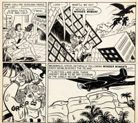 H. G. Peter Wonder Woman #18 Unpublished Partial Page Original Art (DC, c. 1946)