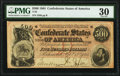 Confederate Notes:1864 Issues, T64 $500 1864 PF-1 Cr. 489A PMG Very Fine 30.. ...