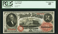 Fr. 43 $2 1874 Legal Tender PCGS Extremely Fine 45