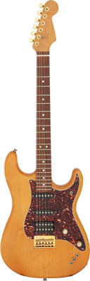 Rick Springfield's 1993 Warmoth Strat Natural Solid Body Electric Guitar, NVSN