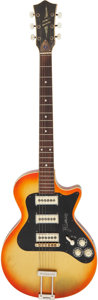Musical Instruments:Electric Guitars, Rick Springfield's Circa 1960's Framus Hollywood Solid Body Electric Guitar, NVSN....