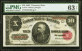Large Size:Treasury Notes, Fr. 370 $10 1891 Treasury Note PMG Choice Uncirculated 63 EPQ.. ...