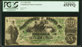 Confederate Notes:1861 Issues, T17 $20 1861 PF-1 Cr. 99 PCGS Extremely Fine 45PPQ.. ...