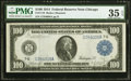 Fr. 1110 $100 1914 Federal Reserve Note PMG Choice Very Fine 35 EPQ