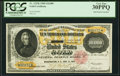 Large Size:Gold Certificates, Fr. 1225h $10,000 1900 Gold Certificate PCGS Very Fine 30PPQ.. ...
