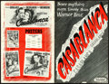 Movie Posters:Academy Award Winners, Casablanca (Warner Bros., 1942). Fine+. Uncut Pres...