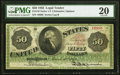 Large Size:Legal Tender Notes, Fr. 148 $50 1862 Legal Tender PMG Very Fine 20.. ...