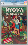 Golden Age (1938-1955):Adventure, Nyoka the Jungle Girl #5 Mile High Pedigree (Fawcett Publications, 1947) CGC NM/MT 9.8 White pages....