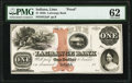 Obsoletes By State:Indiana, Lima, IN- LaGrange Bank $1 18__ G2a Wolka 1345-02 Proof PMG Uncirculated 62.. ...