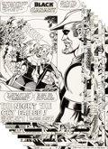 """Original Comic Art:Complete Story, Jose Delbo and Vince Colletta World's Finest Comics #256 Complete 10-Page Black Canary Story """"The Night the Cry Fa... (Total: 10 Original Art)"""