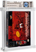Video Games:Nintendo, Spider-Man and Venom: Maximum Carnage [Limited Edition, First Production] Wata 9.8 A+ Sealed SNES LJN 1994 USA.. ...