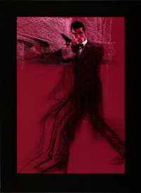 """Licence to Kill by Bob Peak (United Artists, 1989). Very Fine. Original Mixed Media Comp Artwork on Paper (19.5"""" X..."""