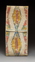 American Indian Art:Beadwork and Quillwork, A Crow Painted Parfleche Envelope c. 1880
