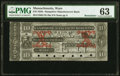 Obsoletes By State:Massachusetts, Ware, MA- Hampshire Manufacturers Bank $10 18__ G40a Remainder / Specimen PMG Choice Uncirculated 63.. ...