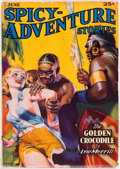 Pulps:Horror, Spicy Adventure Stories - June 1937 (Culture) Condition: FN-....