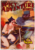 Pulps:Adventure, Spicy Adventure Stories - August 1937 (Culture) Condition: VG-....