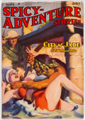 Pulps:Adventure, Spicy Adventure Stories - September 1938 (Culture) Condition: FN-....