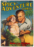 Pulps:Adventure, Spicy Adventure Stories - April 1939 (Culture) Condition: VG/FN....