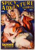 Pulps:Adventure, Spicy Adventure Stories - February 1937 (Culture) Condition: VG+....