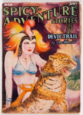 Pulps:Adventure, Spicy Adventure Stories - March 1937 (Culture) Condition: VG/FN....