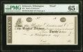 Obsoletes By State:Delaware, Wilmington, DE- Bank of Delaware $20 18__ UNL Proof PMG Gem Uncirculated 65 EPQ.. ...