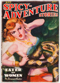Pulps:Horror, Spicy Adventure Stories - May 1937 (Culture) Condition: VG....