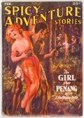 Pulps:Adventure, Spicy Adventure Stories - February 1936 (Culture) Condition: VG-....