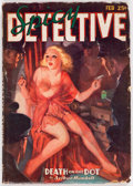 Pulps:Detective, Spicy Detective Stories - February 1936 (Culture) Condition: GD/VG....