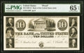 Obsoletes By State:Pennsylvania, Philadelphia, PA- Bank of the United States (3rd - State Charter) $10 18__ G120 as Hoober 305-157 Proof PMG Gem Uncirculat...