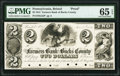Obsoletes By State:Pennsylvania, Bristol, PA- Farmers Bank of Bucks County $2 June 18, 1841 G52 as Hoober 39-5 Proof PMG Gem Uncirculated 65 EPQ.. ...