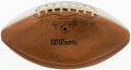 Autographs:Others, 1956 University of Michigan Team Signed Football. ...
