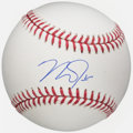 Autographs:Baseballs, Mike Trout Single Signed Baseball. Offered is the ...
