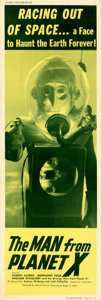 Movie Posters:Science Fiction, The Man from Planet X (United Artists, 1951). Very Fine on...