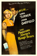 """Movie Posters:Film Noir, The Postman Always Rings Twice (MGM, 1946). Fine/Very Fine on Linen. One Sheet (27"""" X 41"""").. ..."""
