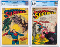 Golden Age (1938-1955):Superhero, Superman #59 and 74 CGC-Graded Group (DC, 1949-52).... (Total: 2 Comic Books)