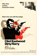 """Movie Posters:Crime, Dirty Harry (Warner Bros., 1971). Fine/Very Fine on Linen. Poster (40"""" X 60"""").. ..."""
