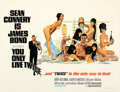 Movie Posters:James Bond, You Only Live Twice (United Artists, 1967). Very Fine on L...