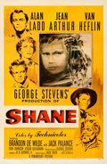 Movie Posters:Western, Shane (Paramount, 1953). Fine/Very Fine on Linen. ...