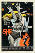 Movie Posters:Science Fiction, The Astounding She Monster (American International, 1958)....