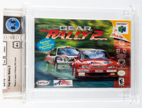 Top Gear Rally 2 Wata 8.5 A+ Sealed N64 Kemco 1999 USA