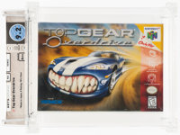 Top Gear Overdrive Wata 9.2 A++ Sealed N64 Kemco 1998 USA