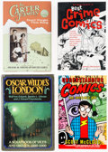 Books:General, Humor and Comics-Related Books Group of 16 (Various, 1970s-2000s).... (Total: 16 Items)