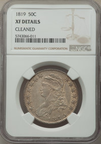 1819 50C -- Cleaned -- NGC Details. XF. Mintage 2,208,000. From The Spring Creek Collection, Part II....(PCGS# 6117)
