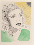 Prints & Multiples, Man Ray (1890-1976). La ballade des dames hors du temps, 1970. 14 etchings with aquatint, most printed in colors on wove... (Total: 17 Items)