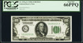 Fr. 2151-G $100 1928A Dark Green Seal Federal Reserve Note. PCGS Gem New 66PPQ