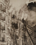 Photographs, Weegee (American, 1899-1968). Three Die in Fire on East Side, 137-139 Suffolk St, New York, March 4, 1937. Gelatin silve...
