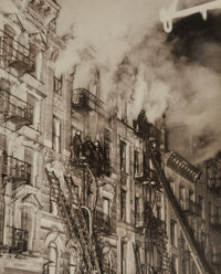 Weegee (American, 1899-1968) Three Die in Fire on East Side, 137-139 Suffolk St, New York, March 4, 193