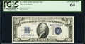 Fr. 1704* $10 1934C Silver Certificate Star. PCGS Very Choice New 64