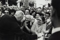 Photographs, Henri Cartier-Bresson (French, 1908-2004). Charles de Gaulle, French President, Town of Millau, 1961. Gelatin silver. 6-...
