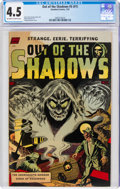 Golden Age (1938-1955):Horror, Out of the Shadows #5 (Standard, 1952) CGC VG+ 4.5 Off-white to white pages....